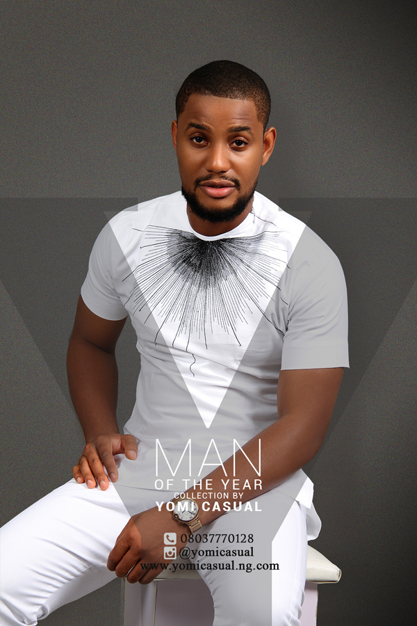 Yomi Casual Man of the Year Collection Lookbook - Alex Ekubo LoveweddingsNG