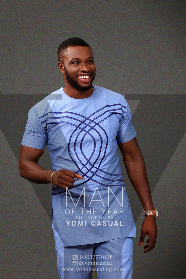 Yomi Casual Man of the Year Collection Lookbook - Emmanuel Ikubese LoveweddingsNG