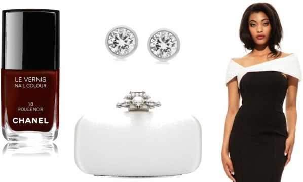 Black and White Wedding Guest Look LoveweddingsNG