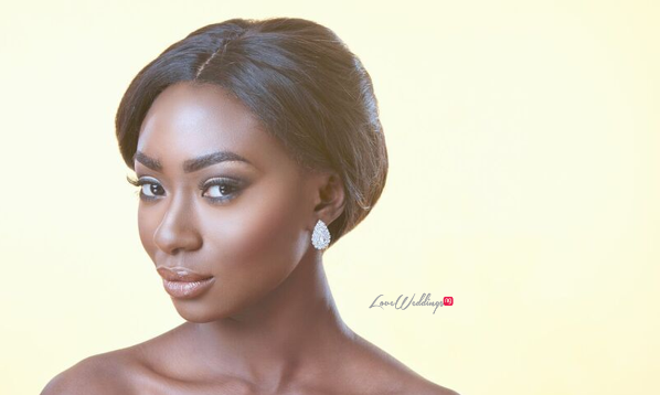 Bridal Hair and Makeup Inspiration - Neon Velvet & Helen Leonard LoveweddingsNG 12