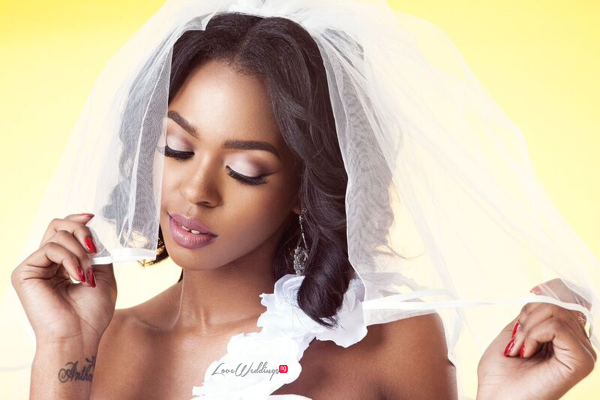 Bridal Hair and Makeup Inspiration - Neon Velvet & Helen Leonard LoveweddingsNG 7