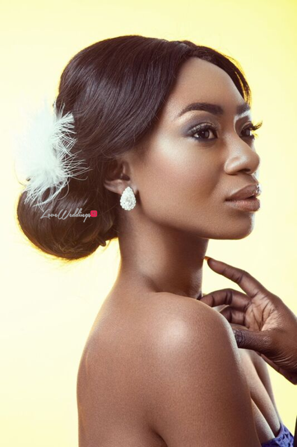 Bridal Hair and Makeup Inspiration - Neon Velvet & Helen Leonard LoveweddingsNG 8