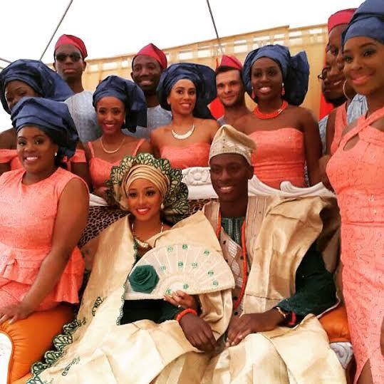 Chinwetel Ejiofor's sister - Kandi weds Dele In Enugu LoveweddingsNG 3