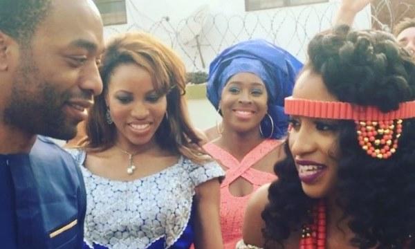 Chinwetel Ejiofor's sister - Kandi weds Dele In Enugu LoveweddingsNG