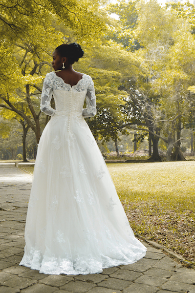 Elizabeth & Lace Fairytale Bridal Shoot LoveweddingsNG 2