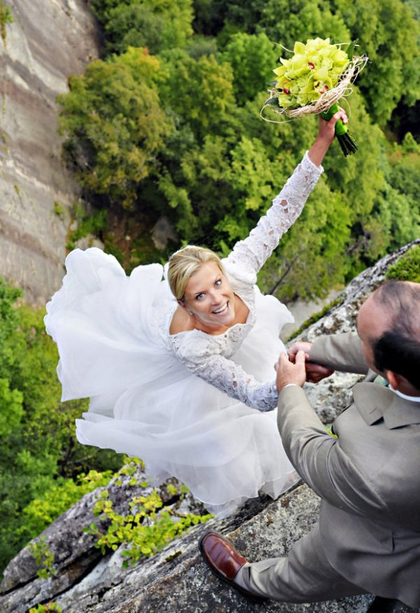 Most Daring Wedding Pictures LoveweddingsNG 1