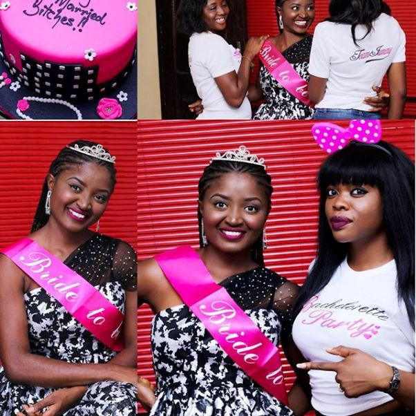 Nigerian Comedian Jedi and Olajumoke Bridal Shower LoveweddingsNG