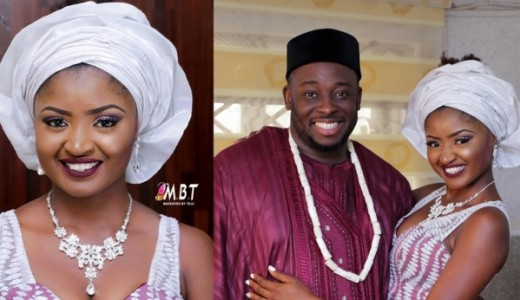 Nigerian Comedian Jedi weds Olajumoke LoveweddingsNG