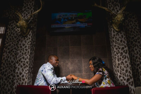 Nigerian Engagement Shoot - Charmain and Kelvin Auxano Photography LoveweddingsNG 20