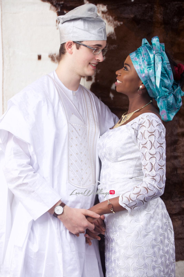 Nigerian Engagement Shoot - Hauwa and Magne LoveweddingsNG