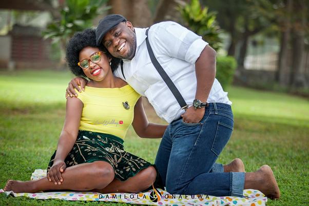 Nigerian Pre Wedding Shoot Tola Wale Damilola Onafuwa DO Weddings LoveweddingsNG 14