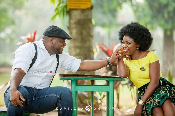 Nigerian Pre Wedding Shoot Tola Wale Damilola Onafuwa DO Weddings LoveweddingsNG 2