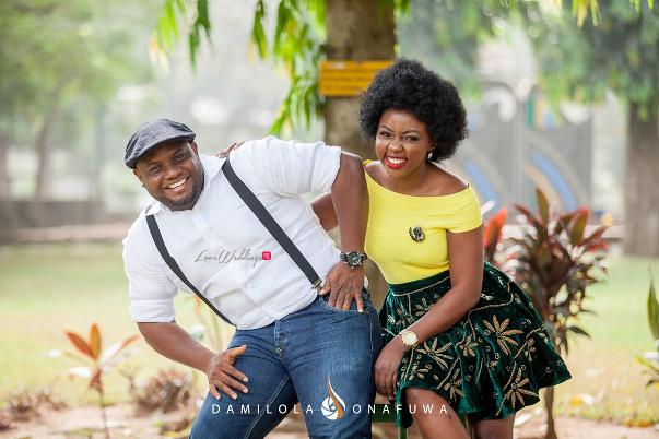 Nigerian Pre Wedding Shoot Tola Wale Damilola Onafuwa DO Weddings LoveweddingsNG 5