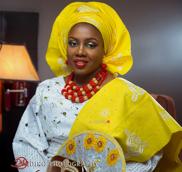 Nigerian Traditional Wedding - Bunmi and Mayowa bride LoveweddingsNG 1