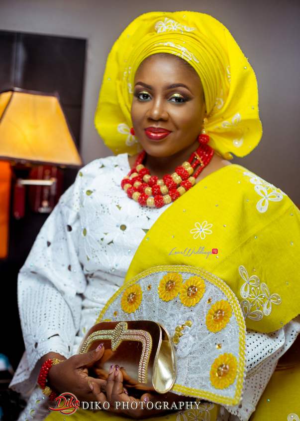Nigerian Traditional Wedding - Bunmi and Mayowa bride LoveweddingsNG 2