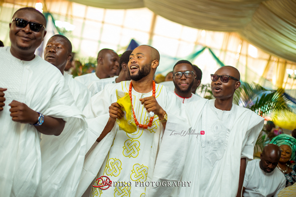 Nigerian Traditional Wedding - Bunmi and Mayowa groom entrance LoveweddingsNG