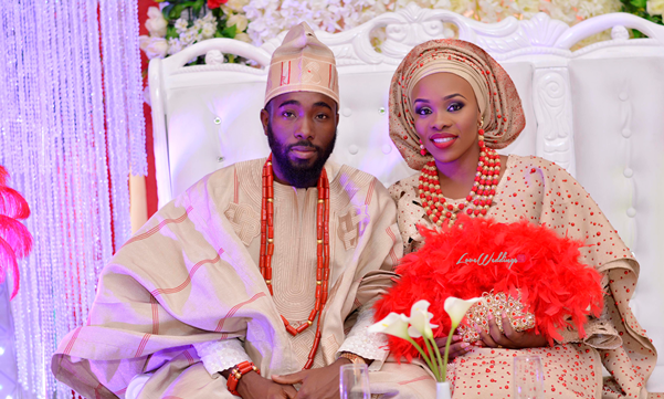 Nigerian Traditional Wedding - Olaide and Pelumi LoveweddingsNG feat