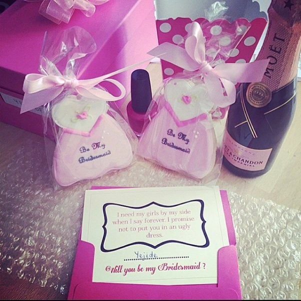 Nigerian Wedding #DoubleO2016 LoveweddingsNG bridesmaids invitation