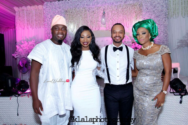 Nigerian White Wedding Adeola and John Klala Photography LoveweddingsNG 30