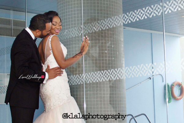 Nigerian White Wedding Adeola and John Klala Photography LoveweddingsNG 5