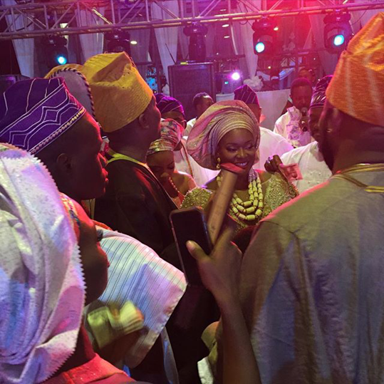 Toolz & Tunde Demuren's Traditional Wedding - Bride and Groom LoveweddingsNG 1