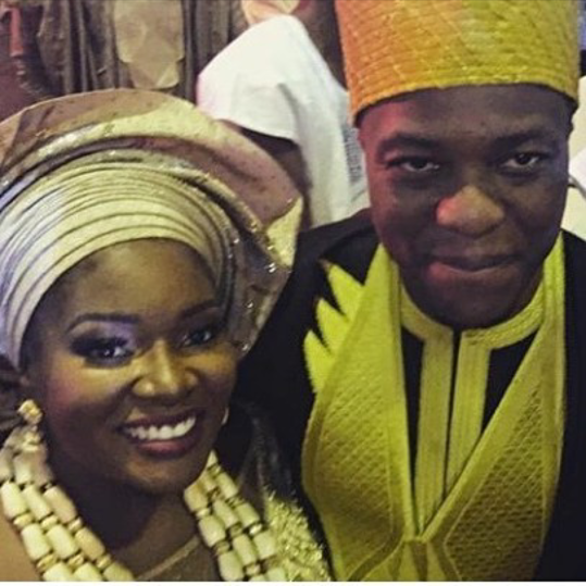 Toolz & Tunde Demuren's Traditional Wedding - Bride and Groom LoveweddingsNG 3
