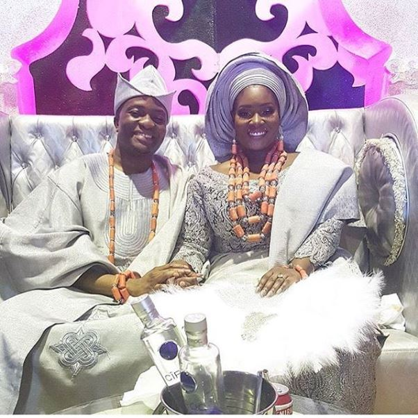 Toolz & Tunde Demuren's Traditional Wedding - Bride and Groom LoveweddingsNG