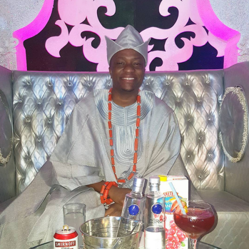 Toolz & Tunde Demuren's Traditional Wedding - The groom LoveweddingsNG