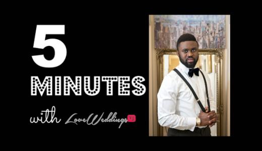 5 Minutes With Godson Studio LoveweddingsNG