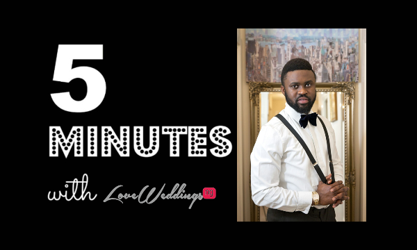 5 Minutes With Godson Studio LoveweddingsNG