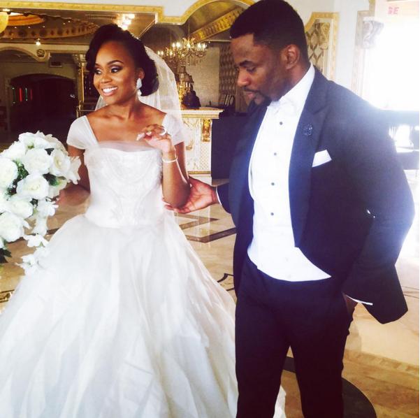 Ebuka Obi - Uchendu Cynthia Obianodo White Wedding LoveweddingsNG 1
