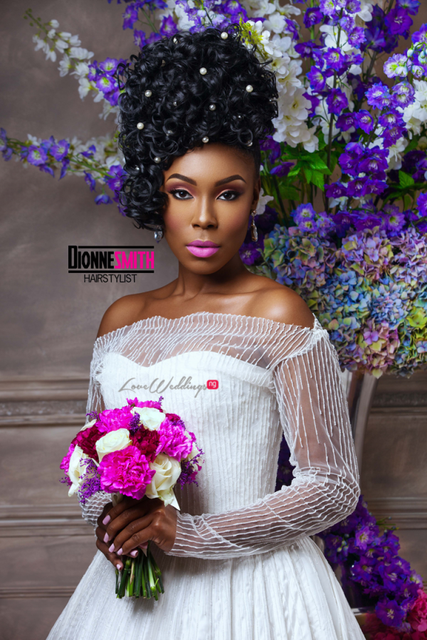 Natural Hair Bridal Inspiration Dionne Smith LoveweddingsNG 6