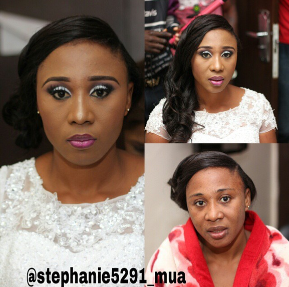 Nigerian Makeovers - Before and After Stephanie 5291 MUA LoveweddingsNG 1