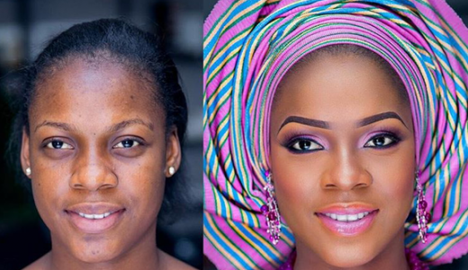 Nigerian-Makeovers-Before-and-After-Stephanie-IPosh-Looks-LoveweddingsNG