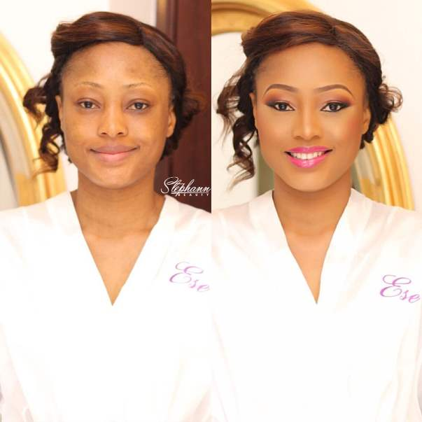 Nigerian Makeup Artist in Abuja StephannBeauty LoveweddingsNG 6