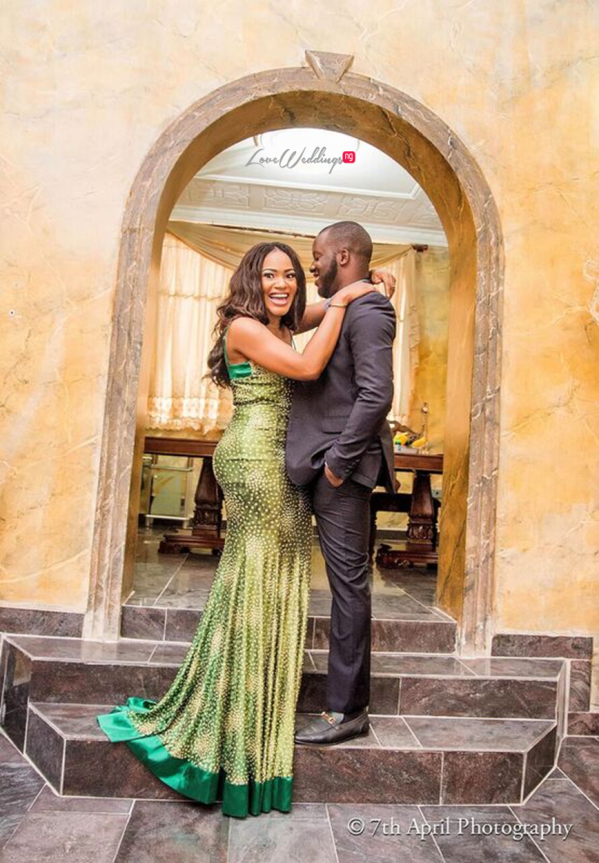 Nigerian Pre Wedding Shoot - Afaa and Percy Engagement 7th April Photography LoveweddingsNG 5