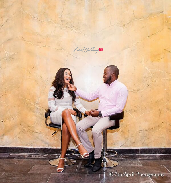 Nigerian Pre Wedding Shoot - Afaa and Percy Engagement 7th April Photography LoveweddingsNG