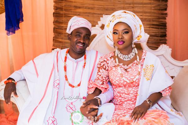 Nigerian Traditional Couple - Teju Yinka LoveweddingsNG 1