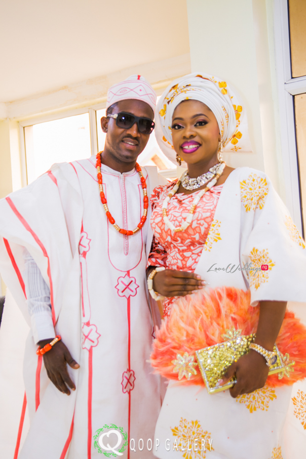 Nigerian Traditional Couple - Teju Yinka LoveweddingsNG