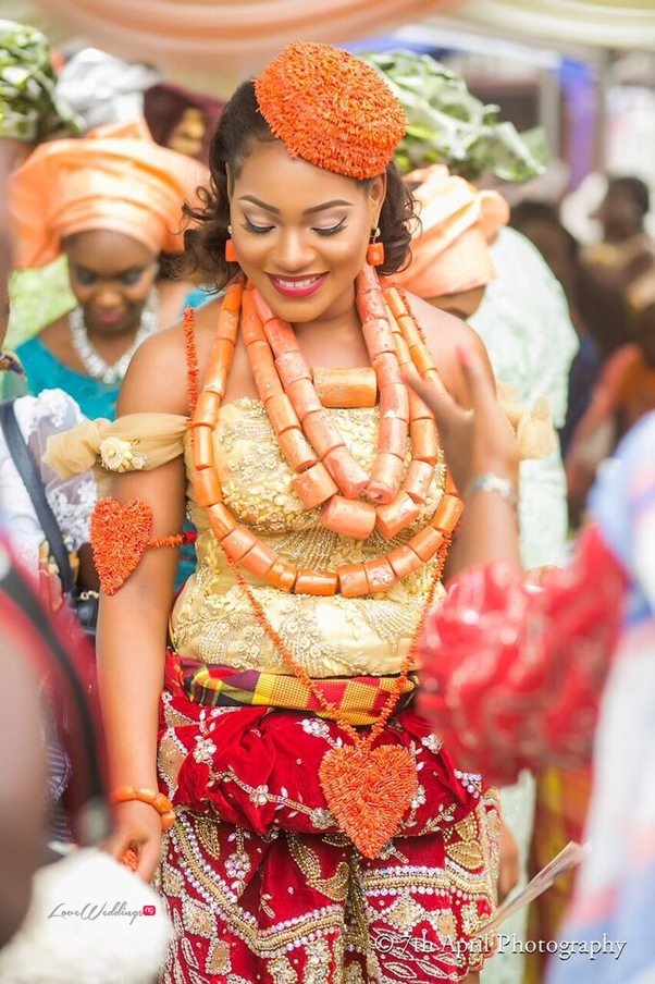Nigerian Traditional Wedding - Afaa and Percy 7th April Photography LoveweddingsNG 10