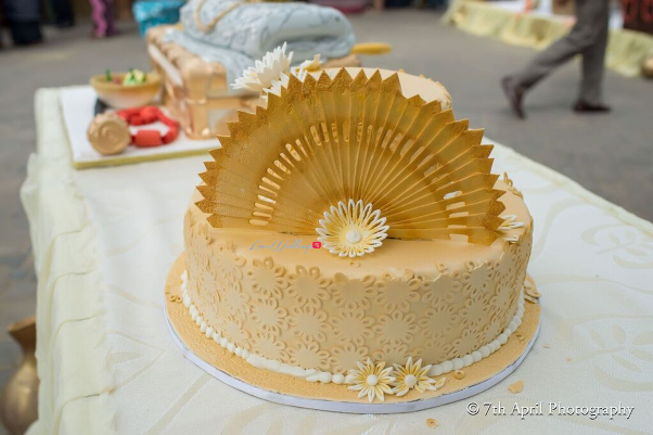 Nigerian Traditional Wedding - Afaa and Percy 7th April Photography LoveweddingsNG cake1