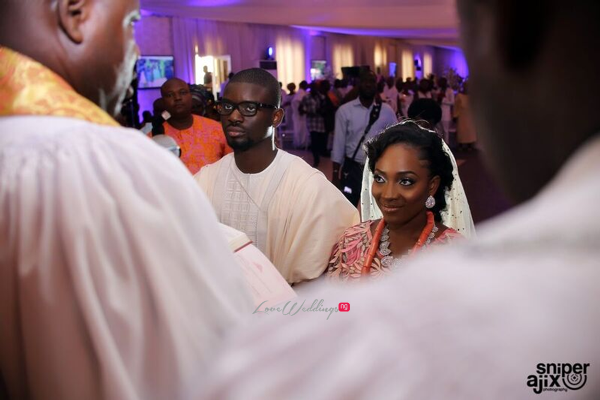 Nigerian Traditional Wedding - Caroline Tobi #CacaTobi LoveweddingsNG 12