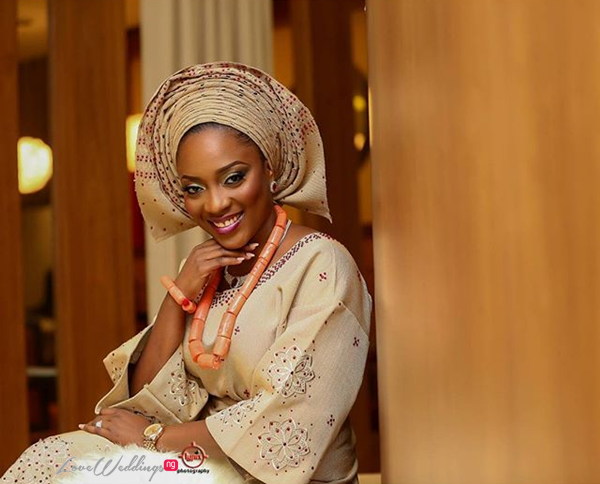 Nigerian Traditional Wedding - Caroline Tobi #CacaTobi LoveweddingsNG 21
