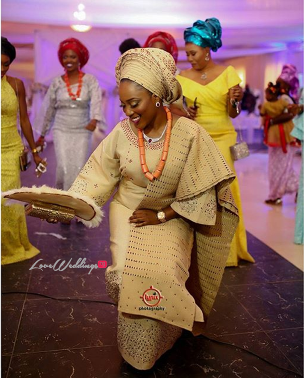 Nigerian Traditional Wedding - Caroline Tobi #CacaTobi LoveweddingsNG 22