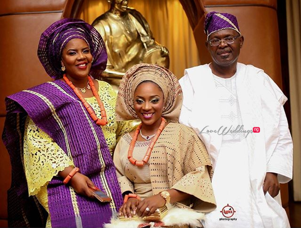 Nigerian Traditional Wedding - Caroline Tobi #CacaTobi LoveweddingsNG 24