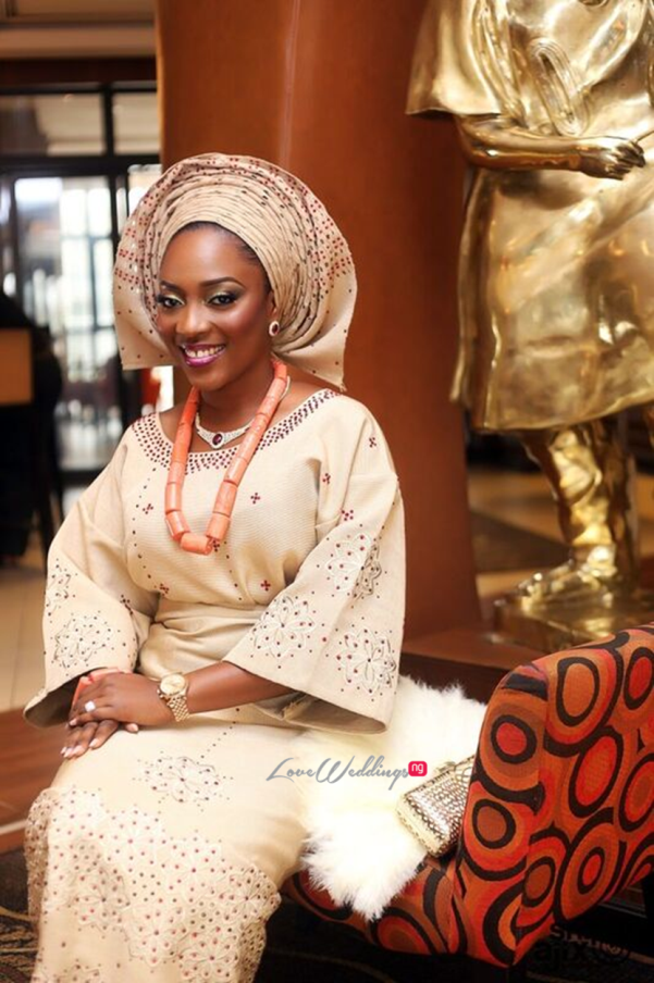 Nigerian Traditional Wedding - Caroline Tobi #CacaTobi LoveweddingsNG 4