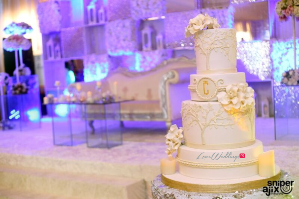Nigerian Traditional Wedding - Caroline Tobi #CacaTobi LoveweddingsNG cake
