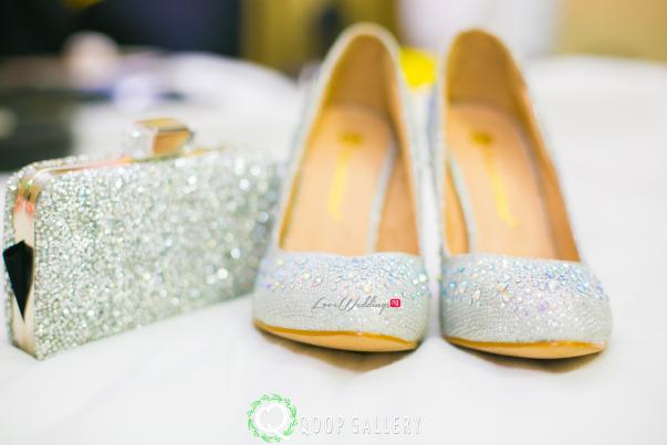 Nigerian Wedding Bride Shoes - Teju Yinka LoveweddingsNG