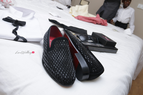 Nigerian Wedding Groom Shoes - Teju Yinka LoveweddingsNG