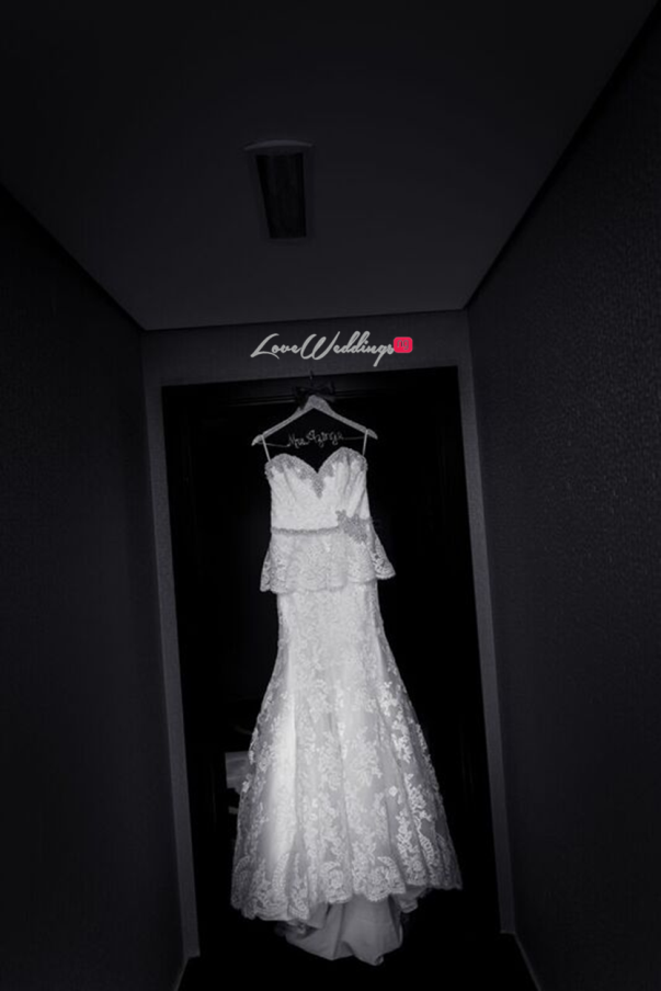 Nigerian Wedding in Dubai Bridal Gown LoveweddingsNG Save the Date